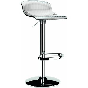 Adjustable Height Swivel Bar Stool by Siesta Exclusive