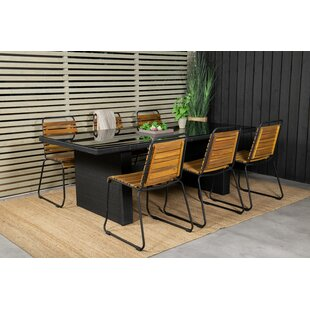 Mabton 6 Seater Dining Set By Sol 72 Outdoor