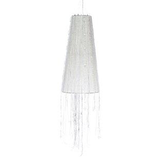 Kerri 1-Light Cone Pendant by Bradburn Home