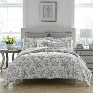 Annalise 100% Cotton Reversible Comforter Set by Laura Ashley Home