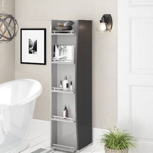 Torrez 43 X 148cm Free Standing Tall Bathroom Cabinet By Mercury Row