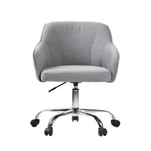 Ebern Designs Burgett Genuine Leather Executive Chair
