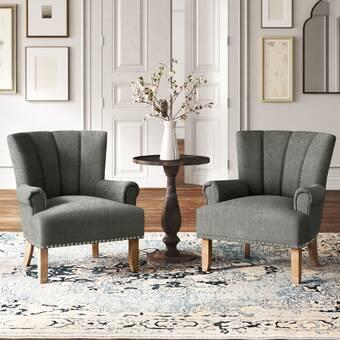 Kelly Clarkson Home Metro 22 25 Wingback Chair Reviews Wayfair