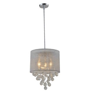 Artiva USA Charlotte 3-Light Chandelier