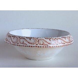 Check Prices Ceramica I Ceramic Circular Vessel Bathroom Sink ByWS Bath Collections