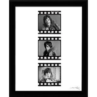 Mick Jagger Film Cellu0027 Framed Fairchild Paris Wall Art