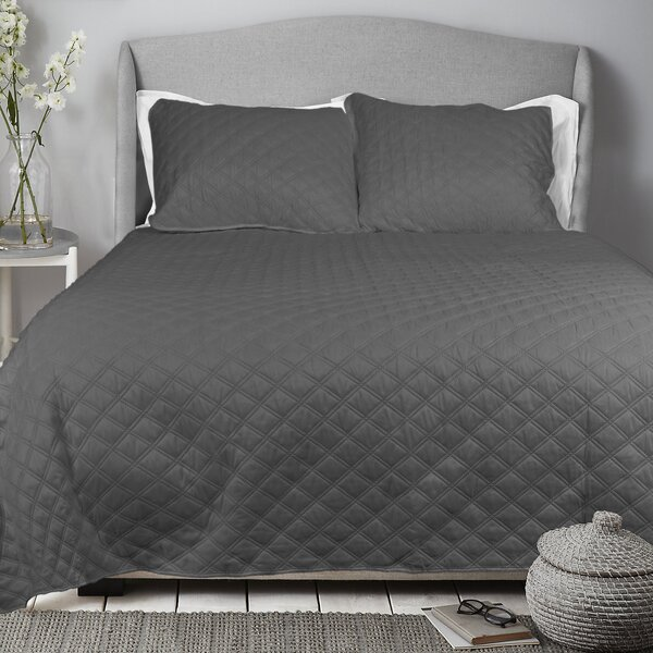 Charlton Home Sommerville Diamond Quilt Set & Reviews by Charlton Home