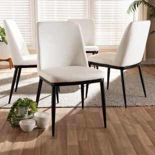 Regnier Upholstered Dining Chair (Set of 4)
