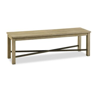Arria Wood Bench by Gracie Oaks