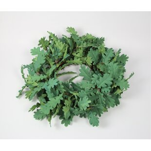 55cm Oak Advent Wreath Image