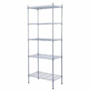Rebrilliant Elyse 5-Tier Wire Shelved Heavy Duty Steel Baker's Rack