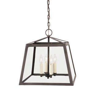 JVI Designs Troy 3-Light Geometric Chandelier