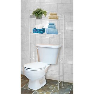 23 W x 54 H Over the Toilet Storage