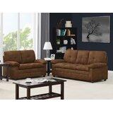 Bahadur Nationwide 2 Piece Standard Living Room Set by Latitude Run®