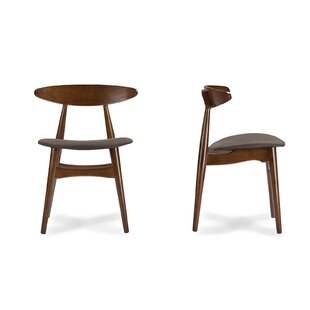 Compare Carrigan Solid Wood Dining Chair (Set of 2) by George Oliver Reviews (2019) & Buyer's Guide