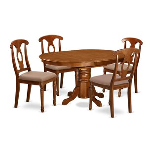 Spurling 5 Piece Extendable Dining Set August Grove