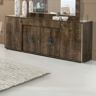 Cervin 4 Door Sideboard by Orren Ellis