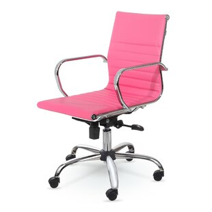 pink office chairs you ll love wayfair