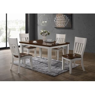 Chauncey 5 Piece Extendable Dining Set