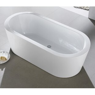 Ramo 58 inch  x 29 inch  Freestanding Bathtub