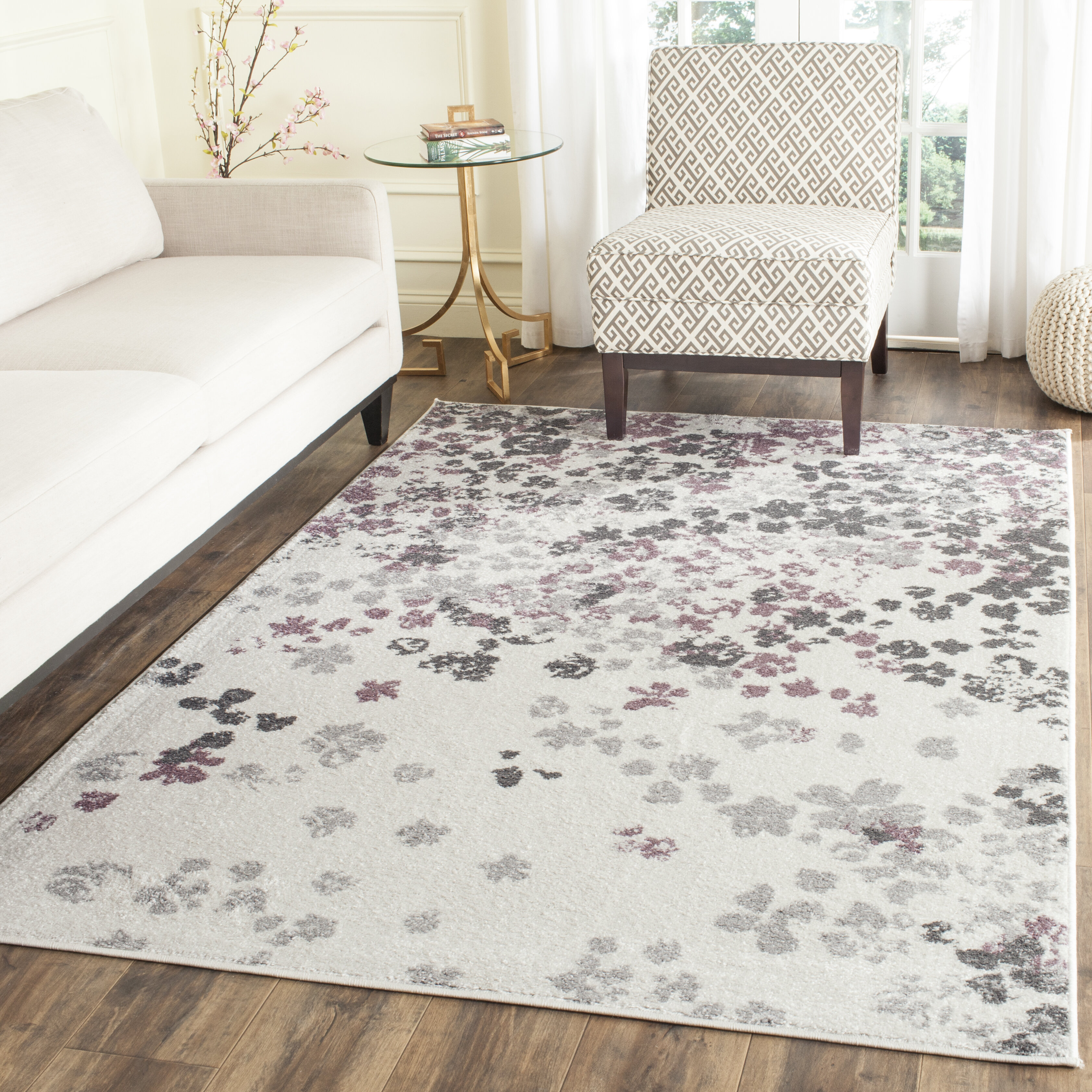 French Country Purple Area Rugs You Ll Love In 2020