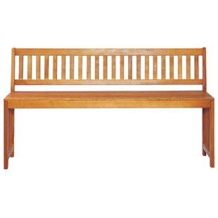 Binns Wooden Bench By Sol 72 Outdoor