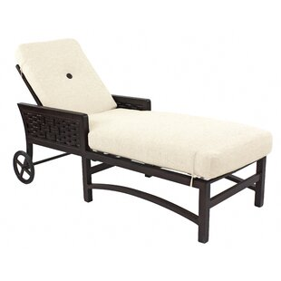 Leona Spanish Bay Chaise Lounge with Cushion