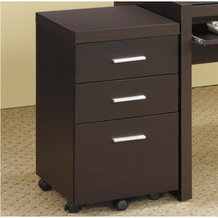 Latitude Run Bozkov 3 Drawer Mobile Vertical File