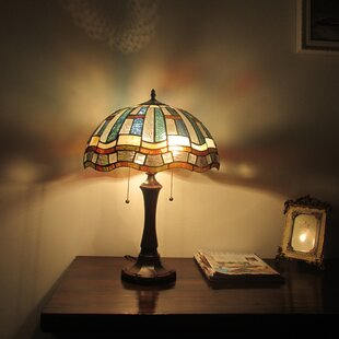 Drayton Tiffany 2 Light Mission 22 Table Lamp