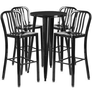 Cohutta 5 Piece Bar Height Dining Set