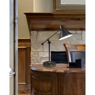Ashwood Cone LED 21.5 Desk Lamp
