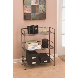 Eaves 3-Tier Iron Slat Tower Shelving