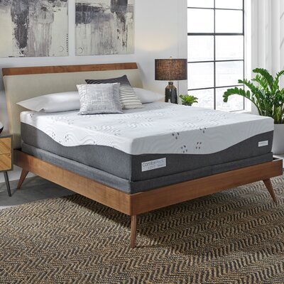 "Comforpedic Loft Beautyrest 14"" Firm Gel Memory Foam Mattress ComforPedic Loft from Beautyrest Mattress Size: Queen"