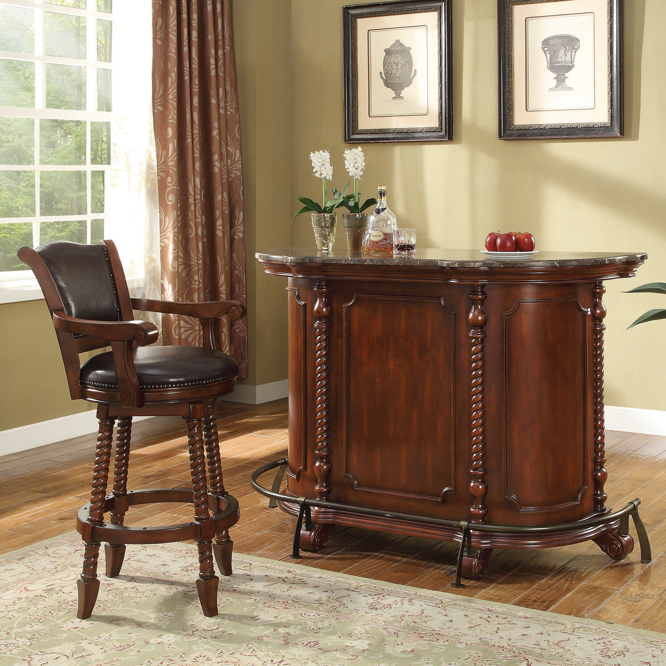 Astoria Grand Lydd Bar Set With Wine