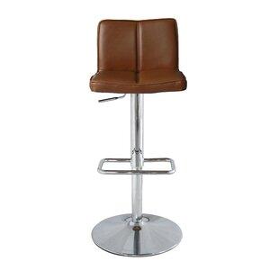 Orren Ellis Anzalone Adjustable Height Bar Stool