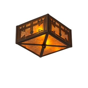 Meyda Tiffany Southwest 2-Light Flush Mount
