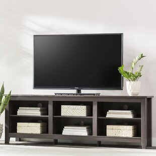 Sunbury TV Stand for TVs up to 70 with optional Fireplace by Beachcrest Home