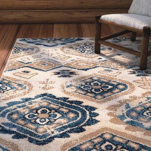 Dotsero Taupe/Blue Indoor/Outdoor Area Rug