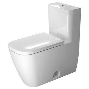 Duravit Happy D.2 Dual Flush Elongated One-Piece Toilet