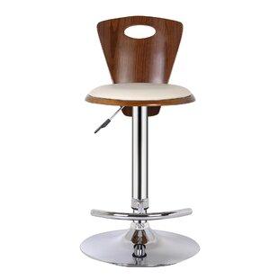 Langton Height Adjustable Swivel Bar Stool By George Oliver