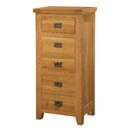 Acorn 5 Drawer Chest of Drawers