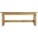 Corona Wood Dining Bench