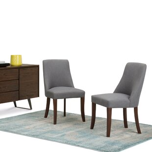 Bouie Deluxe Upholstered Dining Chair (Set of 2)