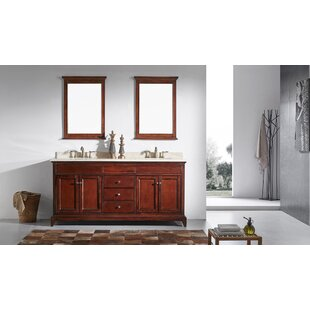 Pineville 60 Double Bathroom Vanity Set by Charlton Home