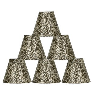 6 Empire Lamp Shade with Clip-on (Set of 6)