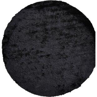 Danae Hand-Tufted Black Area Rug ByWilla Arlo Interiors