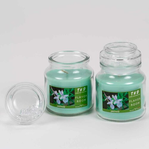 Patchouli Scented Jar Candle Scented Cubes