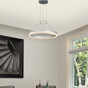 Chifdale Orbicular 2-Light LED Wagon Wheel Chandelier by Wade Logan