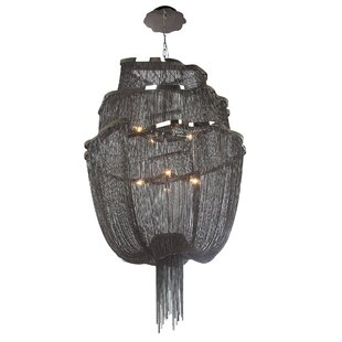 Rosdorf Park Eduardo 6-Light Waterfall Chandelier