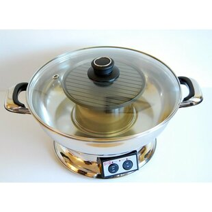 City ST. 4.2-Qt. Electric Hot Pot with BBQ Grill